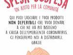 Spesa sospesa Capannori