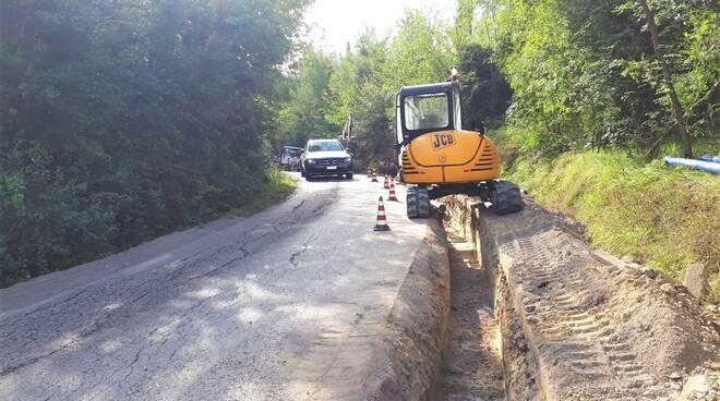Acque, a San Miniato conclusi i lavori sull'acquedotto in via Volterrana