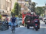 auto in fiamme a Viareggio
