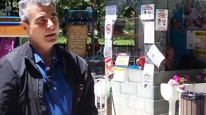 Baccelli in pineta a Viareggio