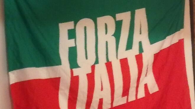 bandiera Forza Italia Mediavalle
