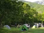 Campeggio in località Rio Vaiano