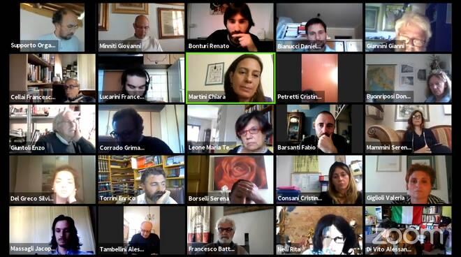 consiglio comunale 12 maggio 2020 virtuale Lucca