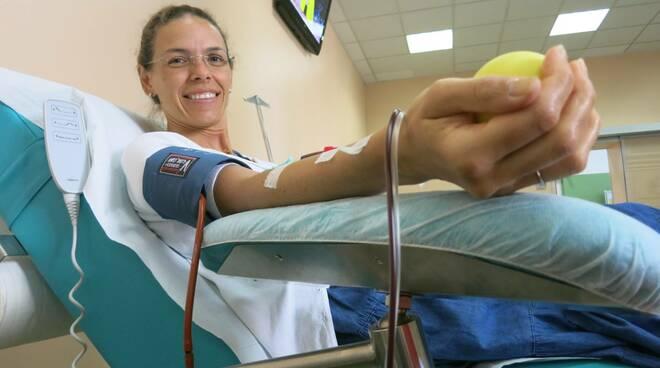 donatrice di sangue