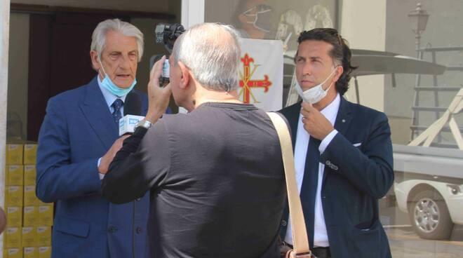 donazione ordine costantiniano di San Giorgio Caritas Viareggio