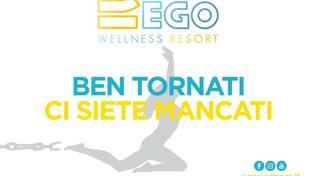 ego Wellness Resort riapertura 3 giugno