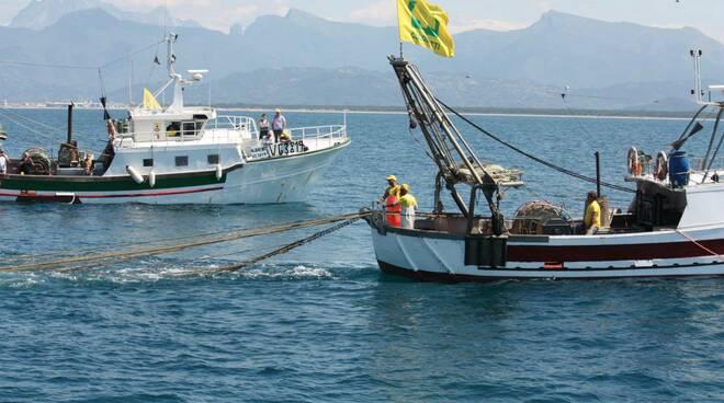 flotta pesca Viareggio Coldiretti