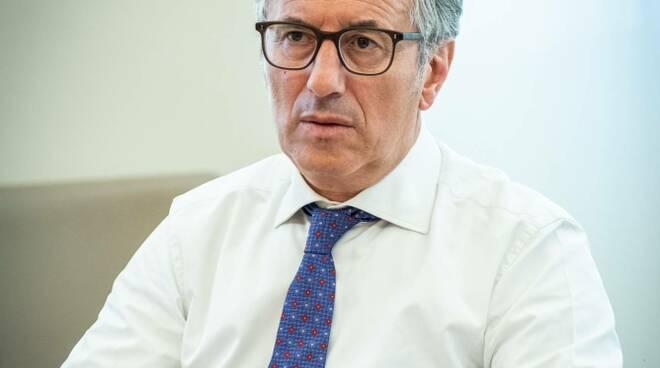 Giampiero Maioli, responsabile del Crédit Agricole in Italia