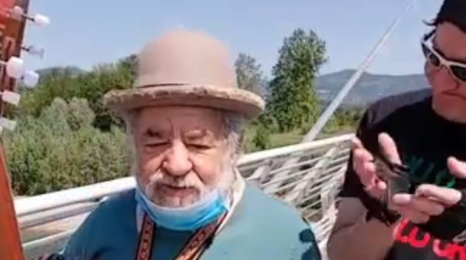Gildo dei Fantardi e Il Grullo sul ponte Fagiolini