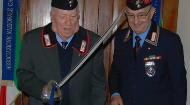 Giuseppe Palagi paracadutista carabinieri lutto Segromigno in Piano