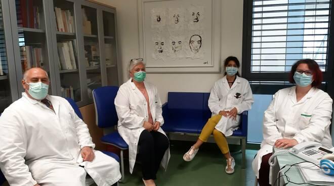 gruppo lavoro recupero mascherine camici asl Toscana nord ovest Covid