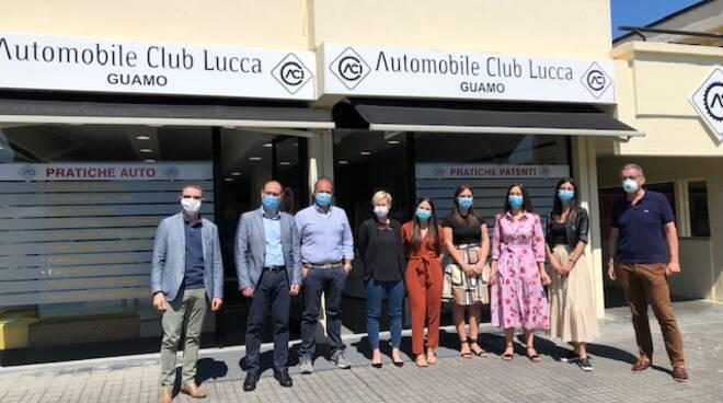Inaugurazione Aci Lucca Guamo