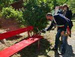Inaugurazione panchina rossa compitese