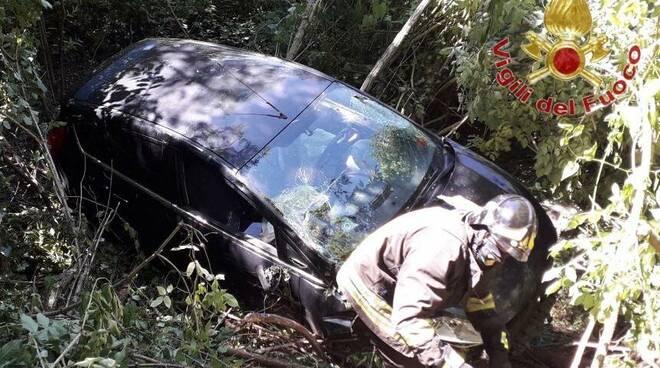 incidente auto e moto crespina 25 maggio 2020