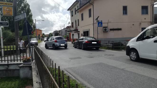 incidente Cud rilievi via Vecchia Pisana San Donato