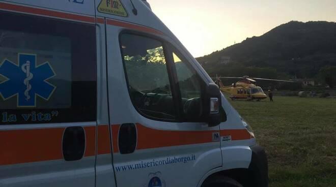 Incidente località Seimiglia