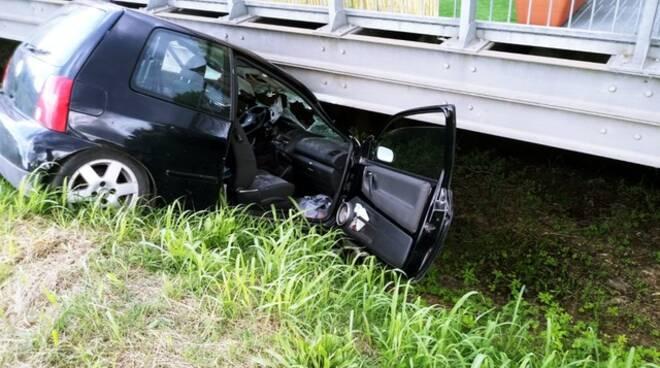 incidente via di Moriano 29 maggio 2020