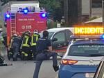 incidente via per Camaiore auto moto 22 maggio 2020