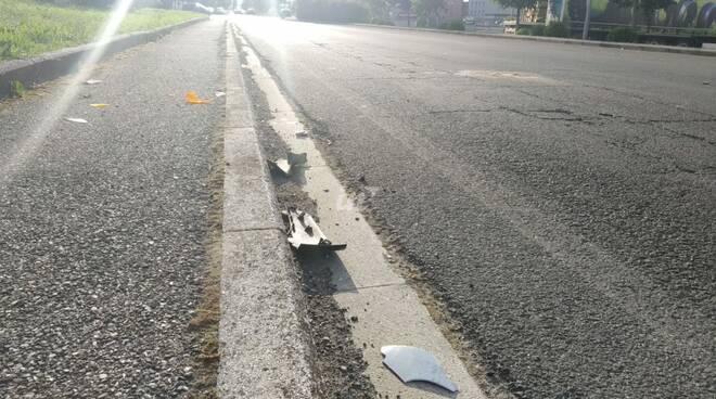 incidente viale gramsci ponte a egola 26 maggio 2020