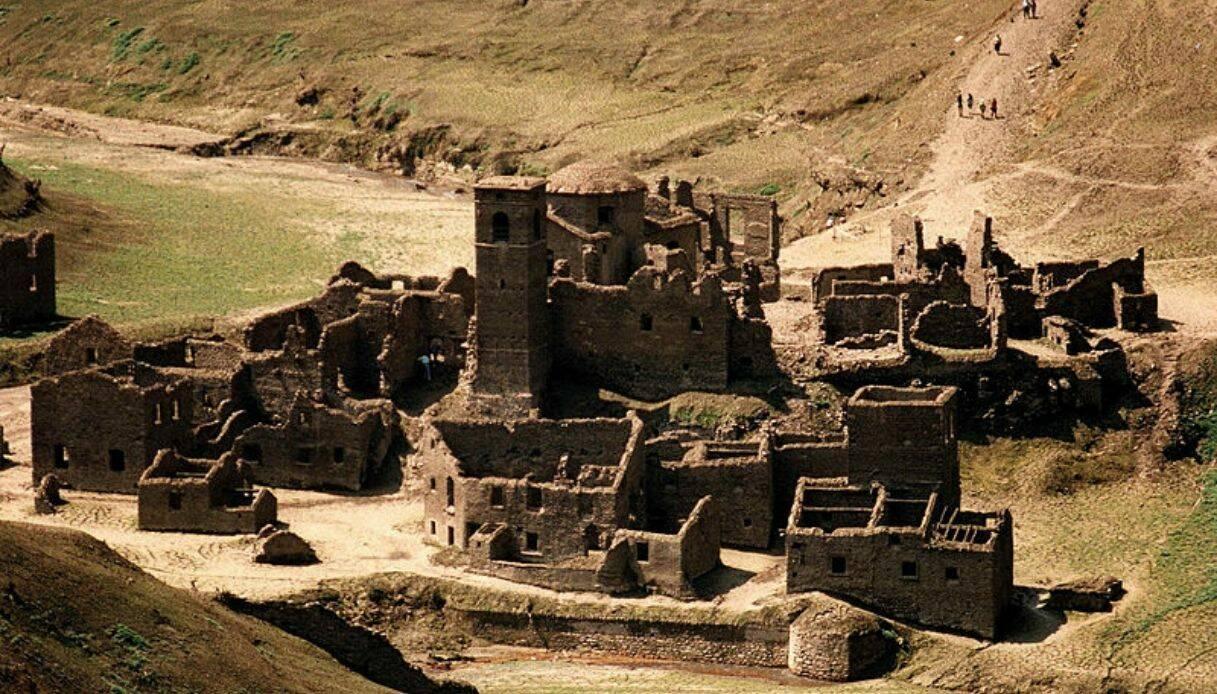 Il vecchio borgo sommerso (da Serchio in diretta)