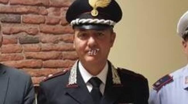 maggiore gennaro riccardi comandante compagnia carabinieri san miniato 2020