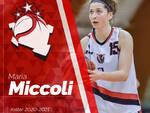 Maria Miccoli Basket Le Mura Lucca ala acquisto