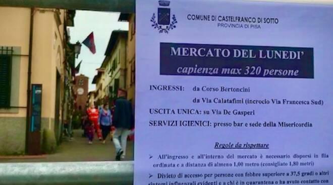 mercato post covid 19 18 maggio 2020 castelfranco di sotto