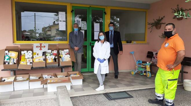 ordine costantiniano donazione casa famiglia Versilia