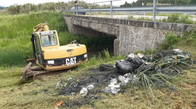 Rimozione rifiuti  rio di fucecchio