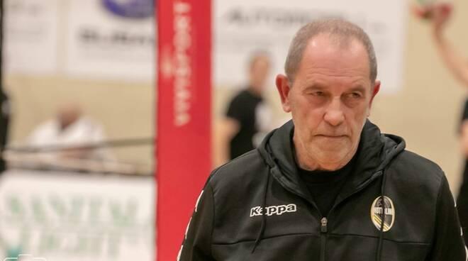 Sandro Becheroni allenatore Nottolini Capannori pallavolo serie B1