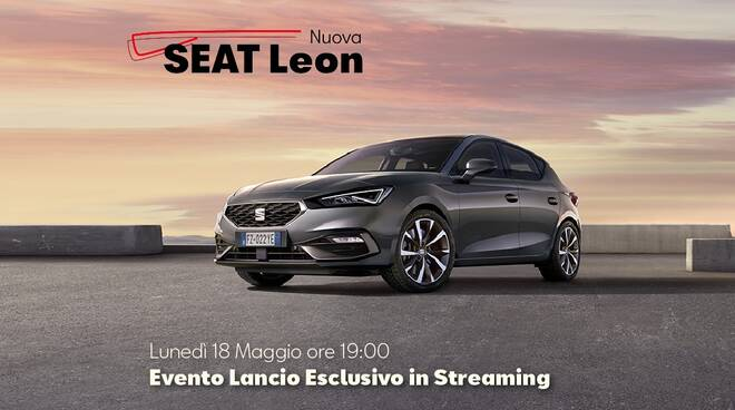 seat leon evento streaming