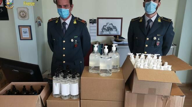 Sequestri siti web e prodotti coronavirus Guardia di Finanza Firenze