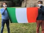 SiAmo Lucca Remo Santini Alessandro Di Vito bandiera italiana Primo maggio