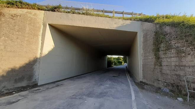 sottopassi bretella Lucca Viareggio