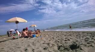 vacanza, mare, spiaggia