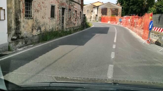 via dell'Ave Maria Capannori pista ciclabile