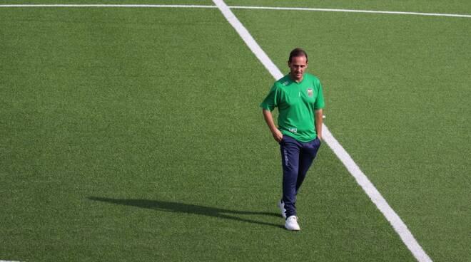 Walter Vangioni allenatore Seravezza serie D