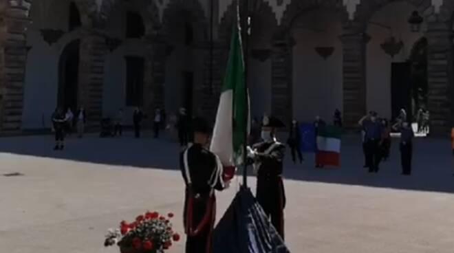 2 giugno 2020 Festa della Repubblica celebrazioni Cortile degli Svizzeri