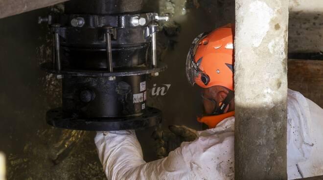 Acque lavori alla rete idrica e alla fognatura