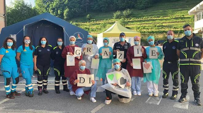 Anai Garfagnana associazione volontari pronto soccorso Castelnuovo
