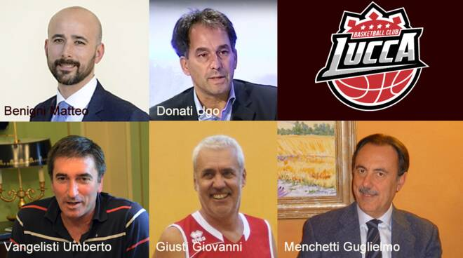 Basketball Club Lucca Matteo Benigni presidente