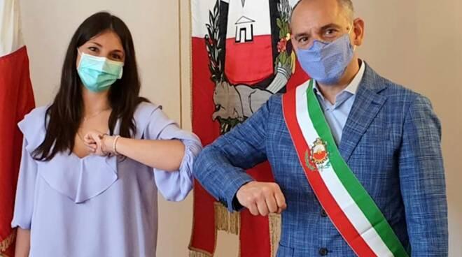 Beatrice Borelli ricercatrice Capannori visita Comune