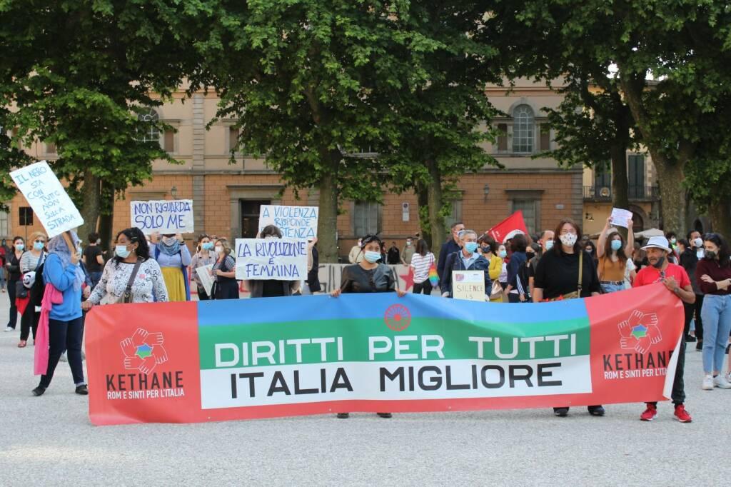 Black Lives Matter manifestazione razzismo Lucca
