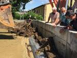 Bomba d'acqua, allagamenti a Porcari