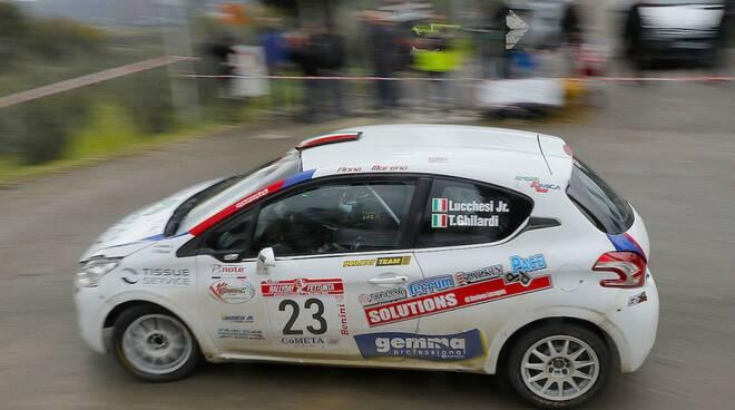Christopher Lucchesi pilota rally motori