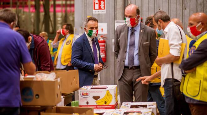 Consegna alimenti e solidarietà Lions Garfagnana