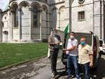 consegna olio Caritas Cia Ases Lucca