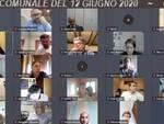 consiglio comunale virtuale Altopascio 12 giugno 2020