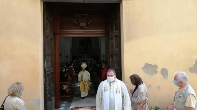 Corpus Domini Castelfranco pick up strade don Ernesto Testi