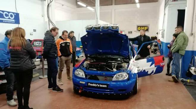 Corso prima licenza rally Aci Lucca